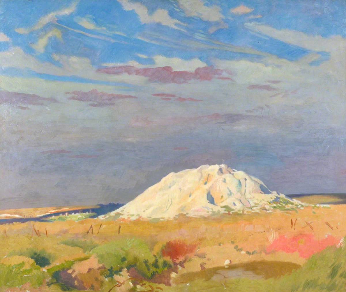 Orpen, William, 1878-1931; The Butte de Warlencourt