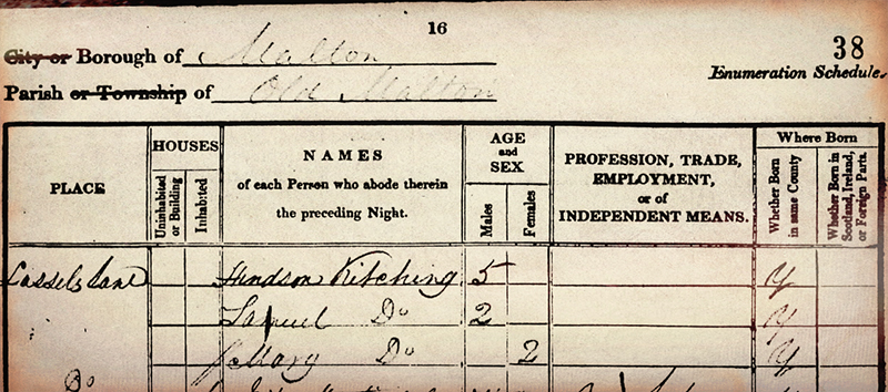 1841_KITCHINGmary_census